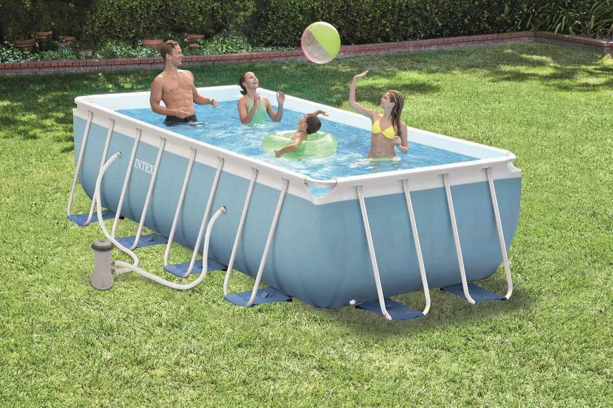 Каркасный бассейн Intex Prism Frame Pool 26790 400 см х 200 см х 122 см