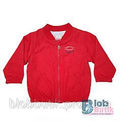 Куртка ветровка SUMMER  красная для мальчика.