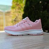 🔥 Женские кроссовки спортивные повседневные Adidas Neo pink адидас нео розовые, фото 2
