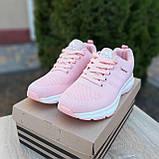 🔥 Женские кроссовки спортивные повседневные Adidas Neo pink адидас нео розовые, фото 5