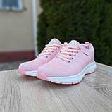 🔥 Женские кроссовки спортивные повседневные Adidas Neo pink адидас нео розовые, фото 10