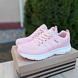 🔥 Женские кроссовки спортивные повседневные Adidas Neo pink адидас нео розовые, фото 7