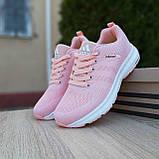 🔥 Женские кроссовки спортивные повседневные Adidas Neo pink адидас нео розовые, фото 8
