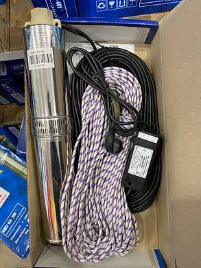 Центробежный погружной насос Водолей БЦПЭ 0,5 - 50У  (32 м кабель) БЕСПЛАТНАЯ ДОСТАВКА, фото 2