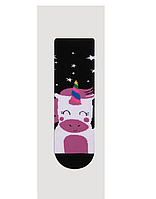 Детские махровые носочки для девочки Единорог Bross