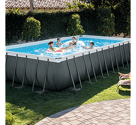 Каркасний басейн Intex Ultra Frame Pool 28358 732 см х 366 см х 132 см з аксесуарами