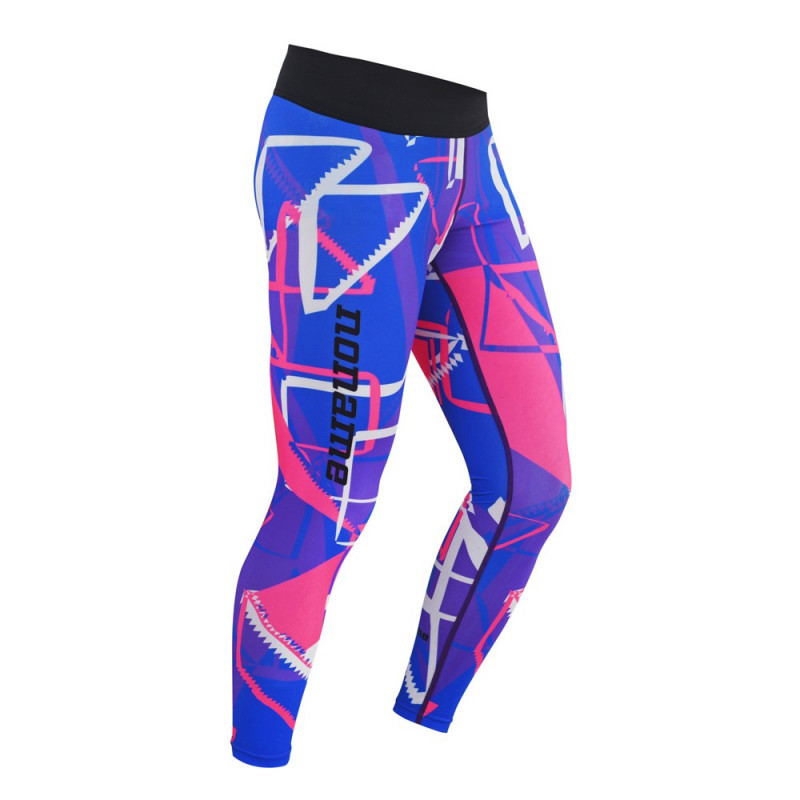 Фитнес лосины Noname FITNESS TIGHTS, BLUE/VIOLET/PINK, WO'S