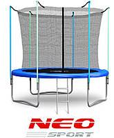 Батут Neo Sport 183 см. с внутренней сеткой и лесенкой, фото 1