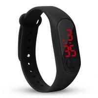 Годинники Led Watch №2 силіконові, унісекс, блакитні, наручні годинники, годинник