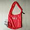 Складна компактна сумка-шоппер з карабіном Shopping bag to roll up, фото 10