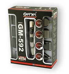 Машинка для стрижки волос Gemei GM592 10 в 1 триммер электробритва