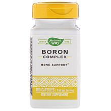 "Бор Nature's Way ""Boron Complex"" 3 мг (100 капсул)"