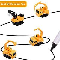 Індуктивна іграшка для автотрека StreetGo Inductive Truck Escalator пластик, від батарейок LR44, дитячі іграшки, дитячі машинки