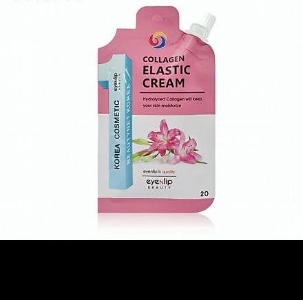 Крем с коллагеном в эконом упаковке Eyenlip Spout Easy Collagen Elastic Cream
