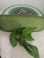 Голандський сир Зелене песто