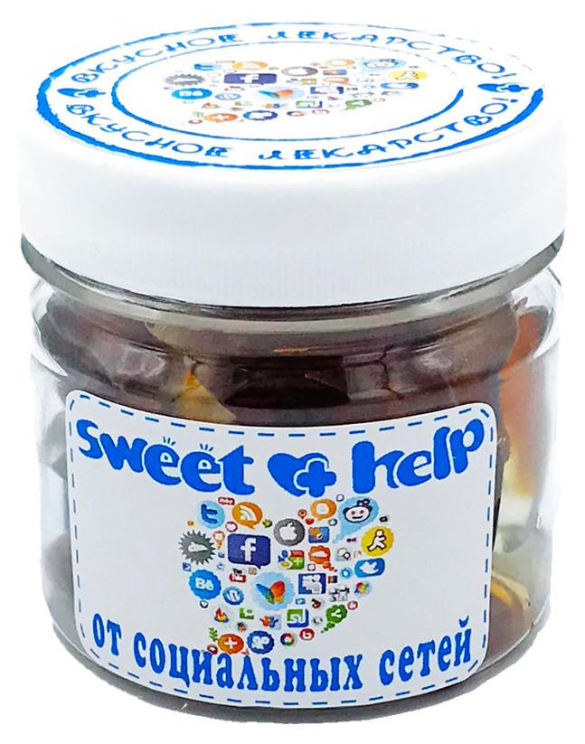 """Sweet help (вкусная помощь) """"От социальных сетей"""" 150мл"""