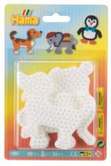Термомозаїка HAMA Набір малих полів Слон, пінгвін і собака Midi 5+ 4572