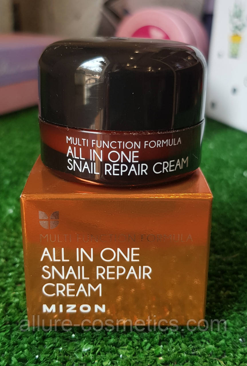 Крем для лица и шеи с улиткой MIZON All In One Snail Repair Cream 15мл