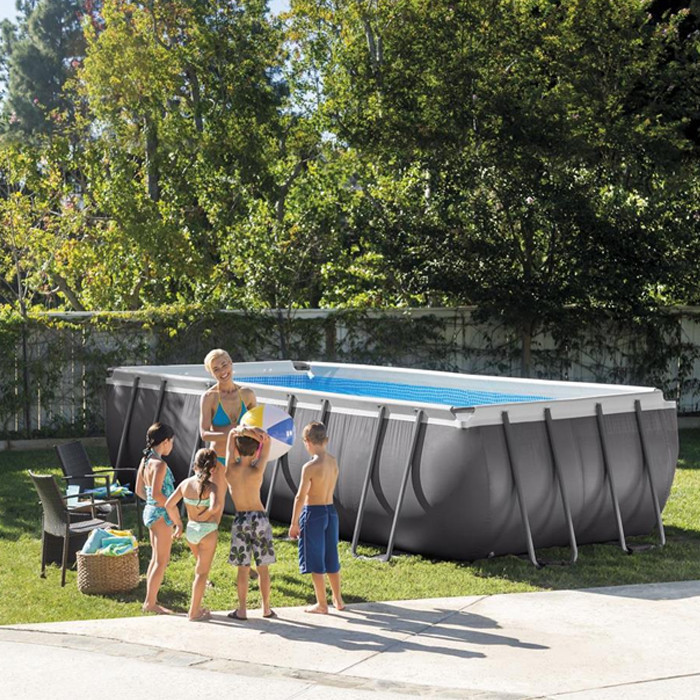 Каркасный бассейн Intex Ultra Frame Pool 28386 732 см х 366 см х 132 см с хлор генератором и аксессуарами