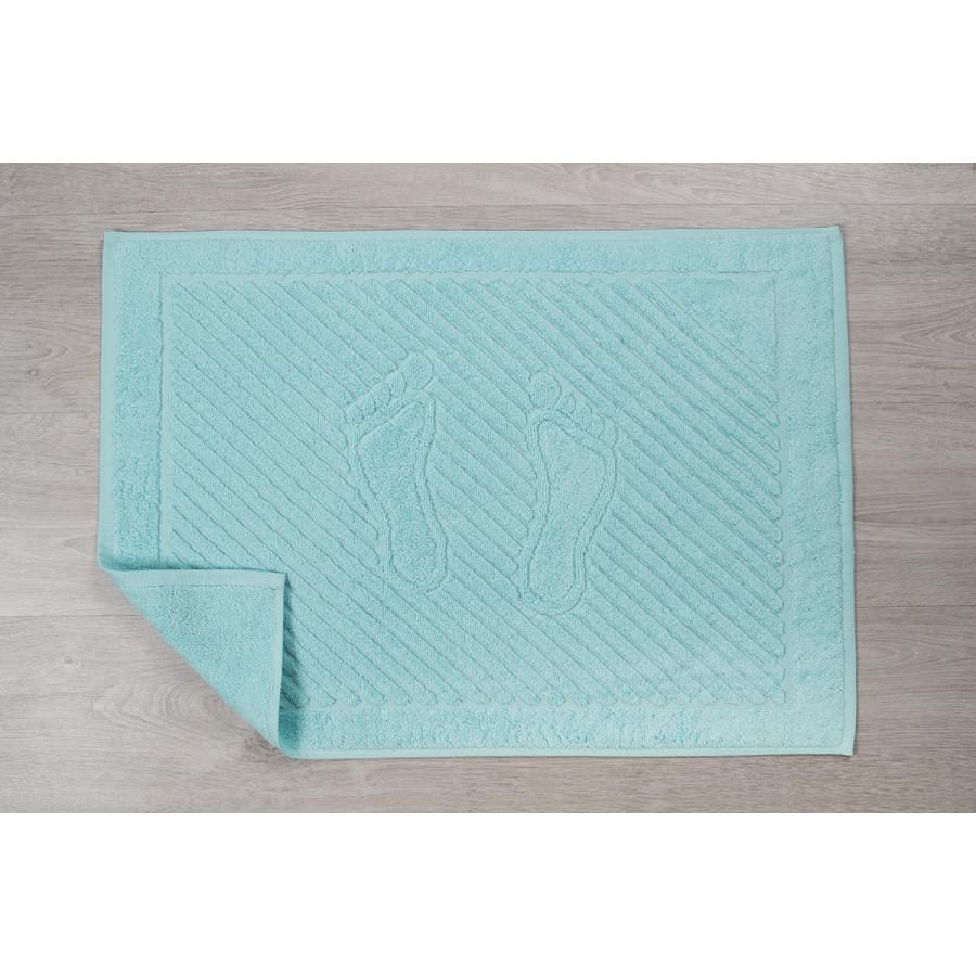 Полотенце для ног Iris Home - Бордюр acik turk 50*70 оптом