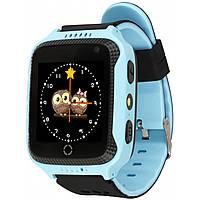 Детские смарт-часы UWatch Q529 Blue/Black (2964-7823)