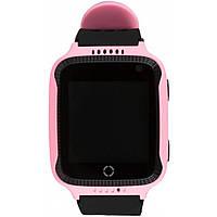 Детские смарт-часы UWatch Q529 Pink с GPS (2964-7820)