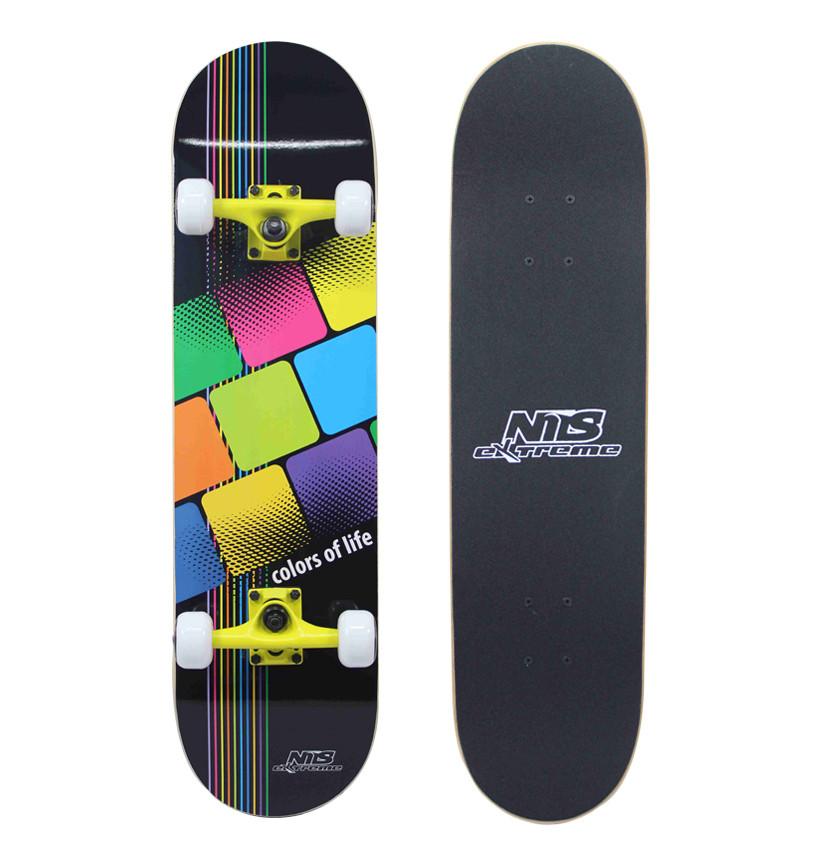 Скейтборд Nils Extreme CR3108SB Colors of Life