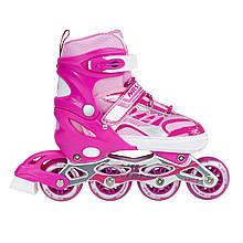 Роликовые коньки Nils Extreme NJ1828A Size 39-42 Pink