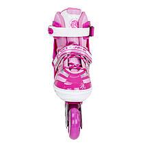 Роликовые коньки Nils Extreme NJ1828A Size 39-42 Pink, фото 2