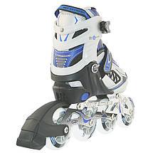 Роликовые коньки Nils Extreme NA9006A Size 31-34 Blue, фото 3