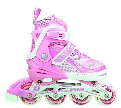 Роликовые коньки Nils Extreme NA1123A Size 39-42 Pink, фото 2