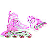 Роликовые коньки Nils Extreme NA1123A Size 39-42 Pink, фото 6