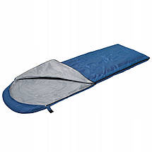 Спальный мешок SportVida SV-CC0011 Blue/Grey, фото 2