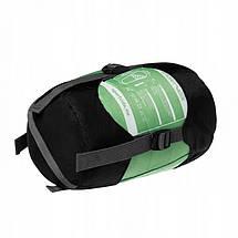 Спальный мешок SportVida SV-CC0013 Green/Blue, фото 3