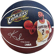 Мяч баскетбольный Spalding NBA Player Kyrie Irving Size 7