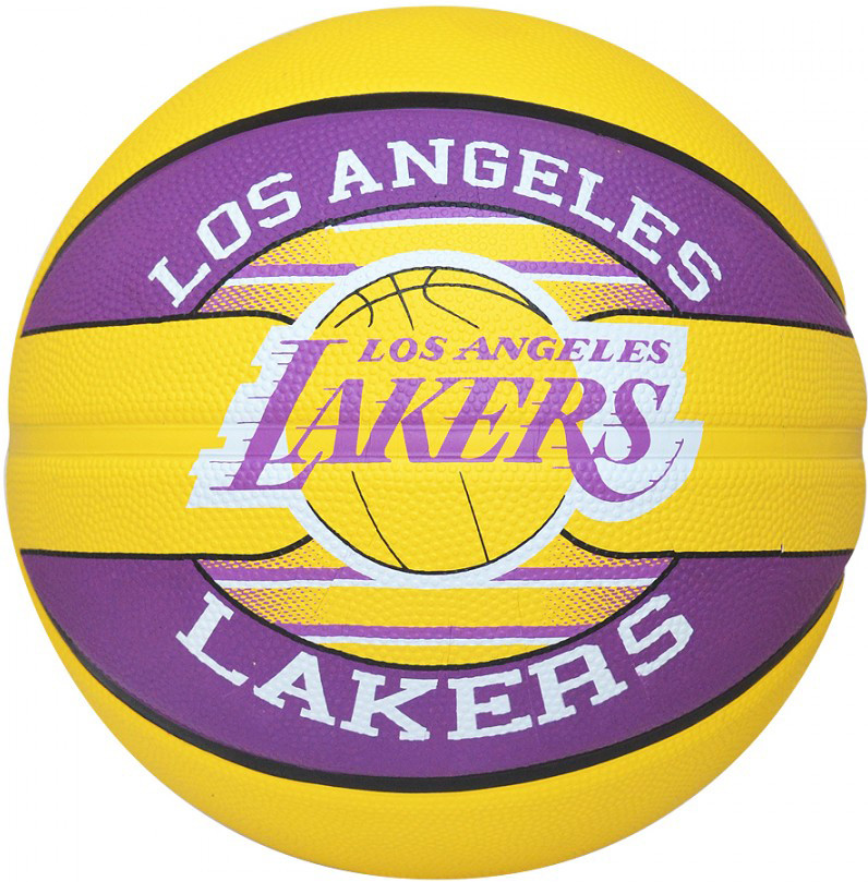 Мяч баскетбольный Spalding NBA Team L.A. Lakers Size 7