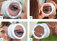 Косметичне дзеркало збільшувальне з підсвічуванням для макіажа SWIVEL BRITE