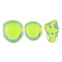 Комплект защитный Nils Extreme H106 Size XS Green/Blue