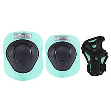 Комплект защитный Nils Extreme H210 Size XS Black/Mint