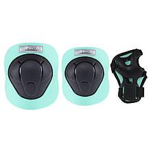 Комплект защитный Nils Extreme H210 Size M Black/Mint