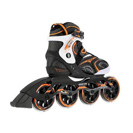 Роликовые коньки Nils Extreme NA1060S Size 39 Black/Orange, фото 2