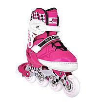 Роликовые коньки Nils Extreme NA13911A Size 35-38 Pink, фото 3