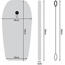 Бодиборд-доска для плавания на волнах SportVida Bodyboard SV-BD0001-2, фото 2