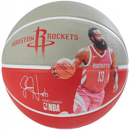 Мяч баскетбольный Spalding NBA Player Ball James Harden Size 7, фото 2