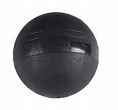 Слэмбол (медицинский мяч) для кроссфита SportVida Slam Ball 7 кг SV-HK0198 Black, фото 3