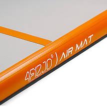 Мат гимнастический надувной 4FIZJO Air Track Mat 500 x 100 x 10 см 4FJ0095, фото 2