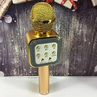 Безпровідний мікрофон-караоке WS-1818 microUSB / USB / MP3 / WMA, робота до 5-8час, мікрофон, мікрофон караоке