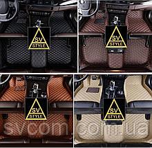 Килимки Audi A7 Шкіряні 3D (4G / 2010+)