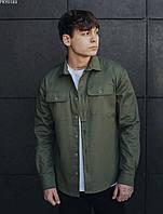 Летняя мужская рубашка Staff khaki