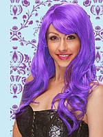 Макарадный парик из фиолетовых локонов